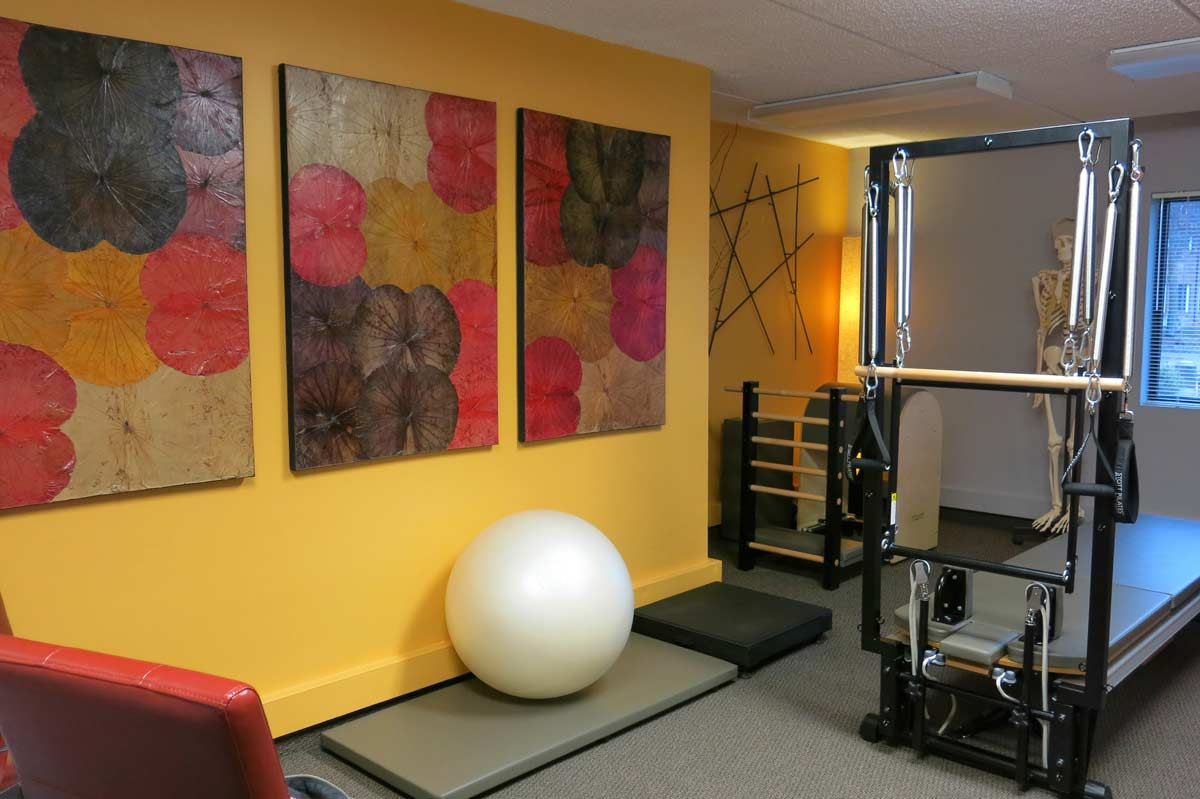 Embody studio for Pilates and Franklin Method.