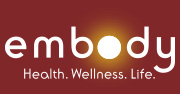 Embody Health. Wellness. Life. Logo