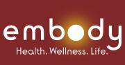 Embody Health. Wellness. Life. Logo